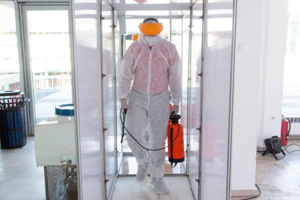 1 Ulaz - dezinfekcioni tunel